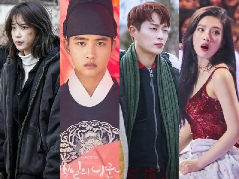 Idol Kpop đóng phim: Người có giải, kẻ nhận 'kết đắng'