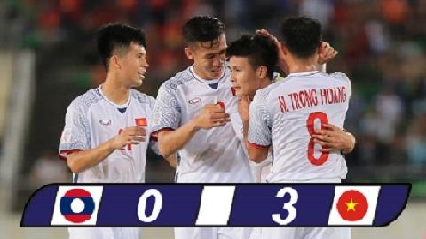 Lào 0-3 Việt Nam (AFF Cup 2018)
