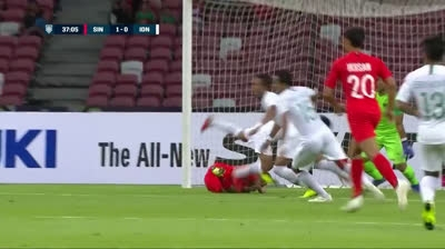 Singapore 1-0 Indonesia (AFF Suzuki Cup 2018)