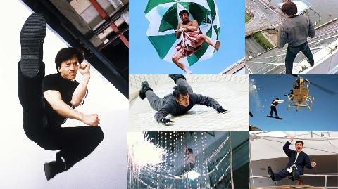 Đứng tim với 8 cú nhảy 'liều mạng' của Thành Long