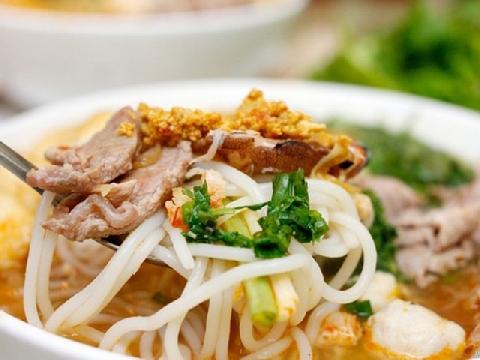 Cận cảnh loại bún đũa có một không hai ở Nam Định