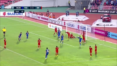 Thái Lan 4-2 Indonesia (Bảng B AFF Cup 2018)