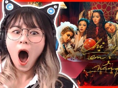 Misthy nổi gai ốc xem Bích Phương ''yểm bùa'' trong MV ''Chị ngả em nâng''
