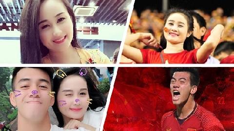 Phong cách đời thường quyến rũ của bạn gái cầu thủ Tiến Linh