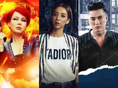 Cả showbiz Việt thành 'trùm mafia' trong web drama