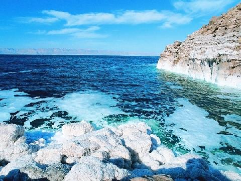 """Biển Chết - """"cái rốn của vũ trụ"""""""