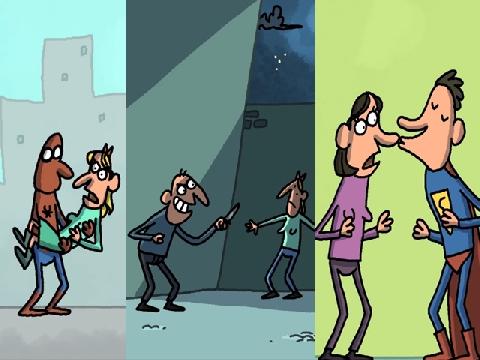 Cười xả stress với 3 phim hoạt hình 'bựa' về siêu anh hùng