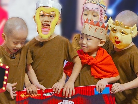 5 chú tiểu giật 100 triệu vì khiến Trấn Thành, Trường Giang ''ngộ độc'' cười quá độ