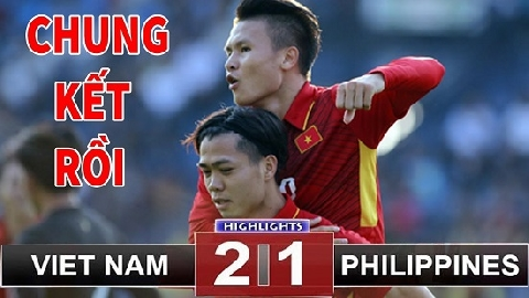 Việt Nam 2-1 Philippines (Lượt về bán kết  AFF Cup 2018)