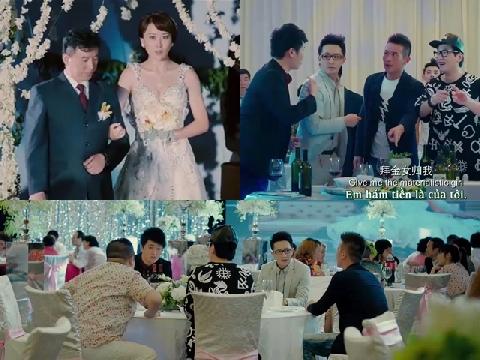 Khi 'tập thể người yêu cũ' được mời đi ăn cưới