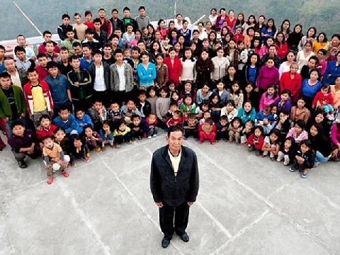 Sức khỏe sinh sản vô địch của người đàn ông có 1171 người con
