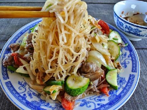 Phở sắn Quảng Nam - món ăn lạ miệng gây thương nhớ