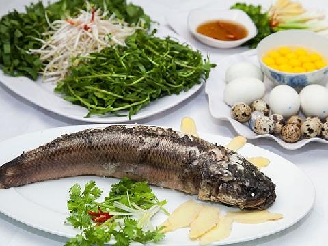 Hướng dẫn nấu món cháo cá lóc rau đắng đúng vị miền Tây