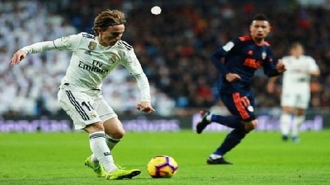 Kỹ năng chuyền bóng thiên tài của Luka Modric (P4)