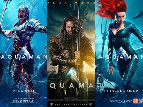 Soi đời tư dàn diễn viên chính Aquaman