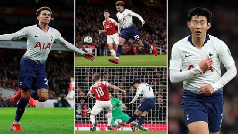 Arsenal 0-2 Tottenham (League Cup 2018)