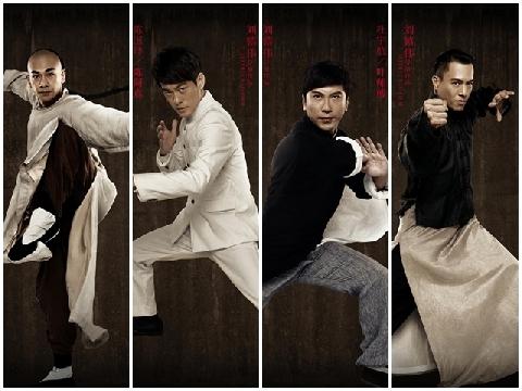 'Huyền thoại Kung Fu' biến tứ đại cao thủ Trung Hoa thành danh hài bất đắc dĩ