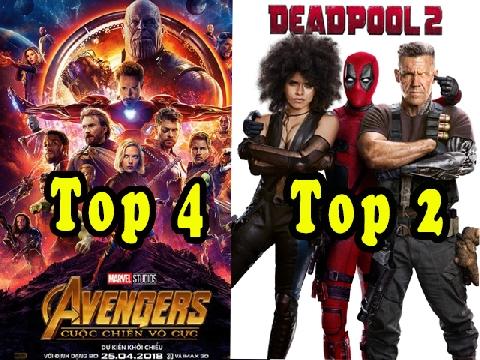 10 bộ phim chiếu rạp được tìm kiếm nhiều nhất năm 2018