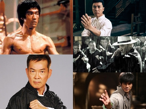 5 cao thủ Vịnh Xuân Quyền đỉnh nhất phim Hoa ngữ