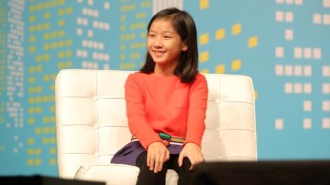 Cô bé Hong Kong 13 tuổi sáng lập công ty công nghệ