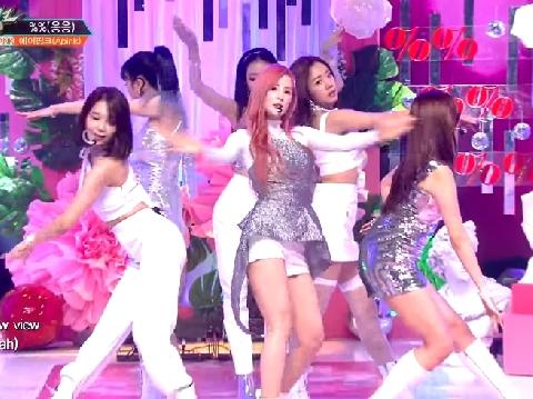 APink khoe vũ đạo siêu gợi cảm trên sân khấu live hit mới ''Eung Eung''