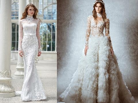 4 chiếc váy cưới thanh lịch cho quý cô tinh tế