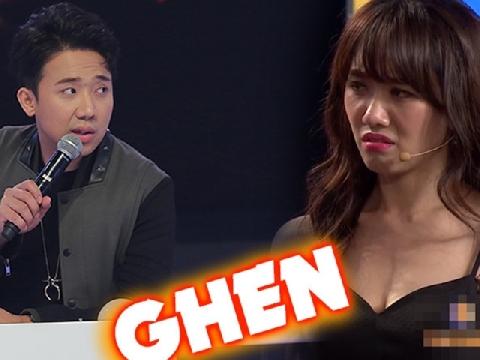 Té ngửa khi nghe Trấn Thành bật mí ''đối tượng'' khiến Hari Won nổi cơn ghen
