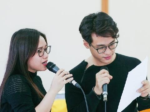 Lộ clip Thùy Chi và Hà Anh Tuấn song ca siêu tình cảm