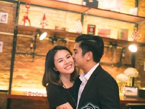 Vân Trang vẫn ngây ngất khi nhớ lại màn cầu hôn cực lãng mạn của chồng
