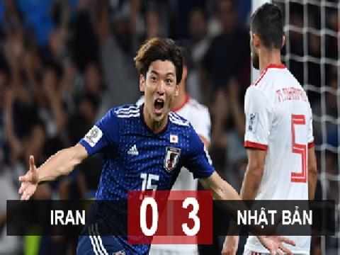 Iran 0-3 Nhật Bản (Bán kết Asian Cup 2019)
