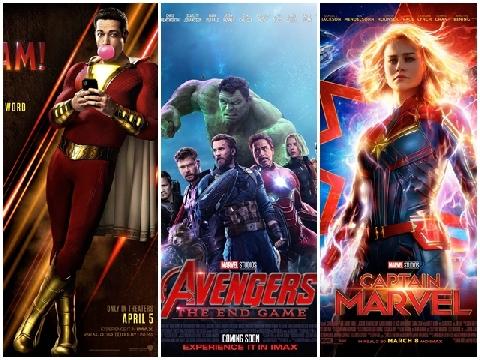 Cơn bão phim siêu anh hùng sẽ càn quét màn ảnh rộng 2019
