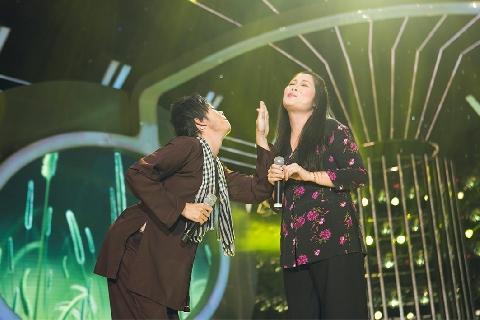 Hài Hoài Linh, Hồng Vân: Chuyện tình bụi chuối