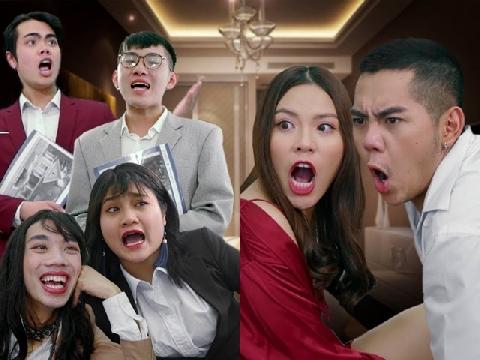 Cười sập nhà xem cảnh vợ chồng đang ''thân mật'' thì bị môi giới phá đám