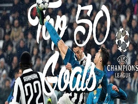 50 siêu phẩm Champions League 2017-18 (P1)