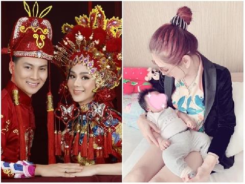 Hé lộ gương mặt cực kháu khỉnh của con trai ''công chúa'' Lâm Khánh Chi
