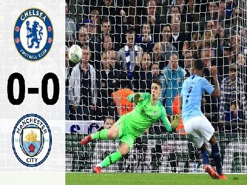 Chelsea 0-0 (pen 3-4) Man City (chung kết cúp Liên đoàn Anh)