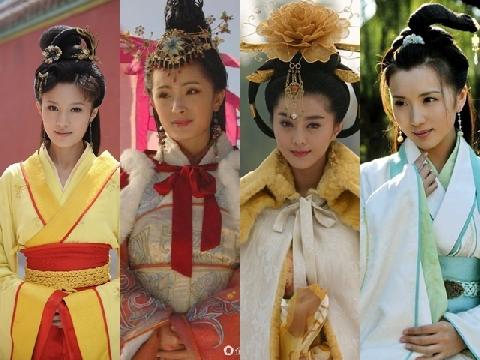 'Tứ đại mỹ nhân' nổi tiếng nhất lịch sử Trung Quốc trên màn ảnh