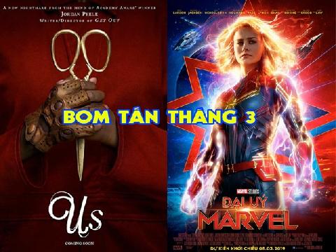 Top phim hay chiếu rạp tháng 3