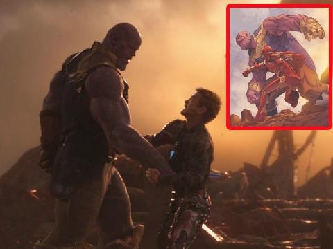 Vì sao Iron Man sẽ là người tiêu diệt Thanos?