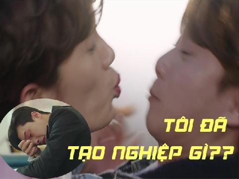 Những lần Park Seo Joon bị đàn ông 'cưỡng hôn' trên màn ảnh