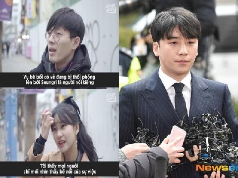 Người Hàn Quốc nói gì về scandal chấn động của Seungri