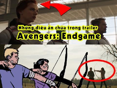 Những điều chỉ fan cứng Marvel nhận ra ở trailer 'Avengers: Endgame'