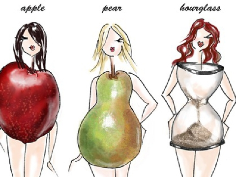 Người có thân hình quả táo nên ăn uống như thế nào?