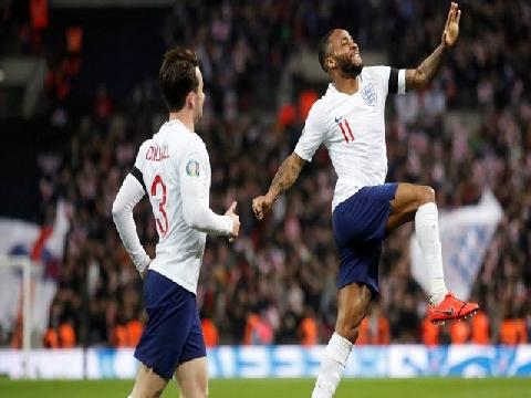 Anh 5-0 Czech Republic (Vòng loại Euro 2020)