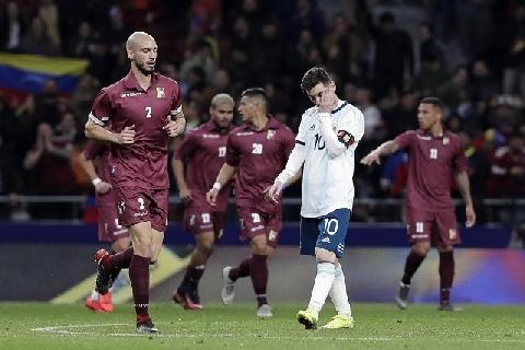 Argentina 1-3 Venezuela (Giao Hữu Quốc Tế)