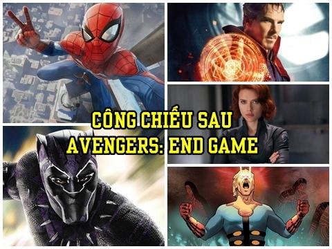 Vũ trụ điện ảnh Marvel sau 'Avengers: Endgame' có gì hot