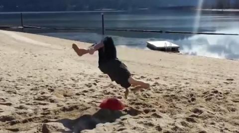 Những cú lộn người cắm đầu xuống đất