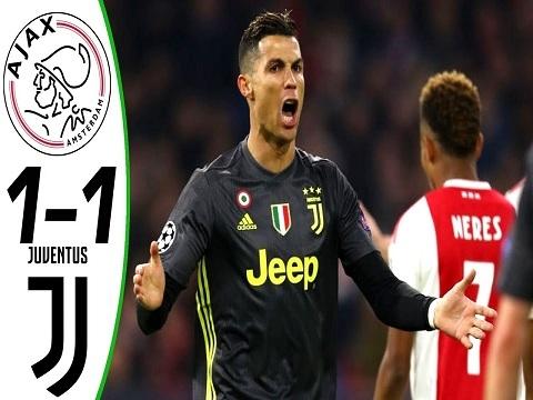 Ajax 1-1 Juventus (Tứ kết lượt đi Champions League 2018/19)