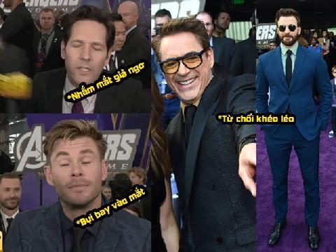 Cách né 'spoil' cực 'tỉnh' của dàn sao Avengers trước thềm ra mắt phim