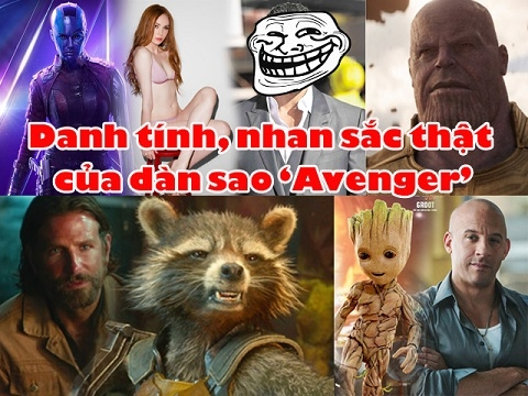 Danh tính, nhan sắc thật của dàn sao 'Avengers' bi giấu mặt